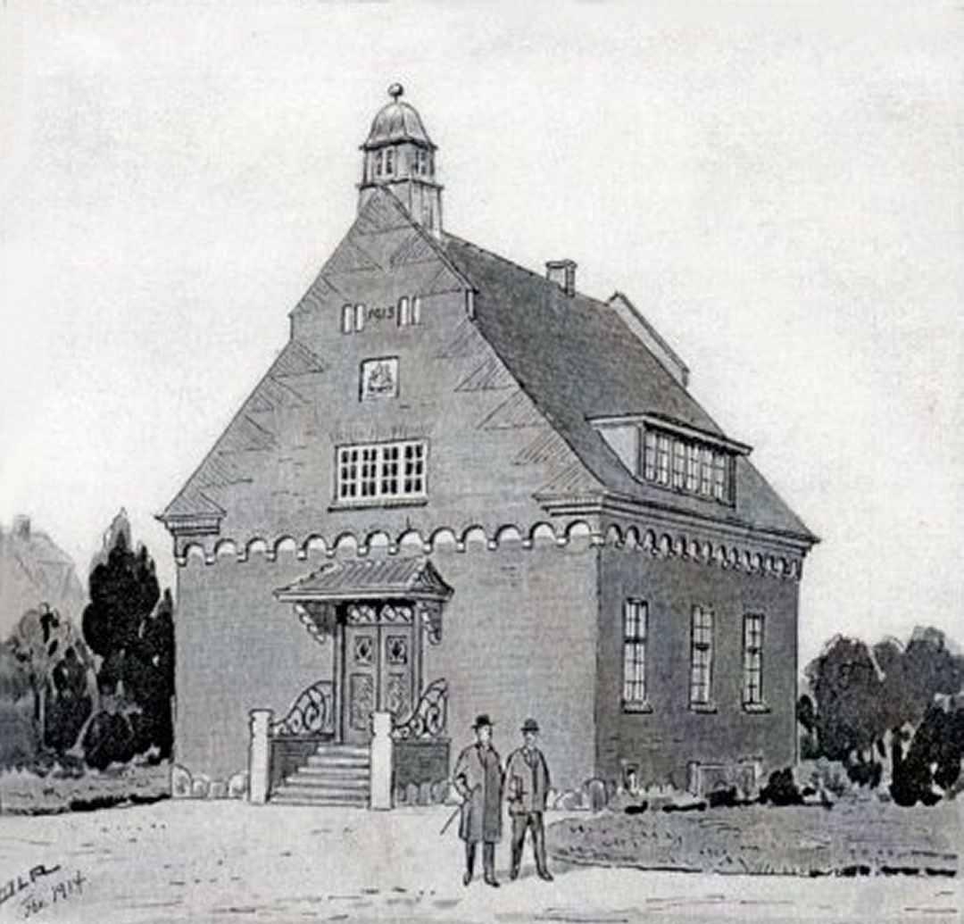 Dragør Lokalarkiv, Stationsvej 5, Dines Bogø