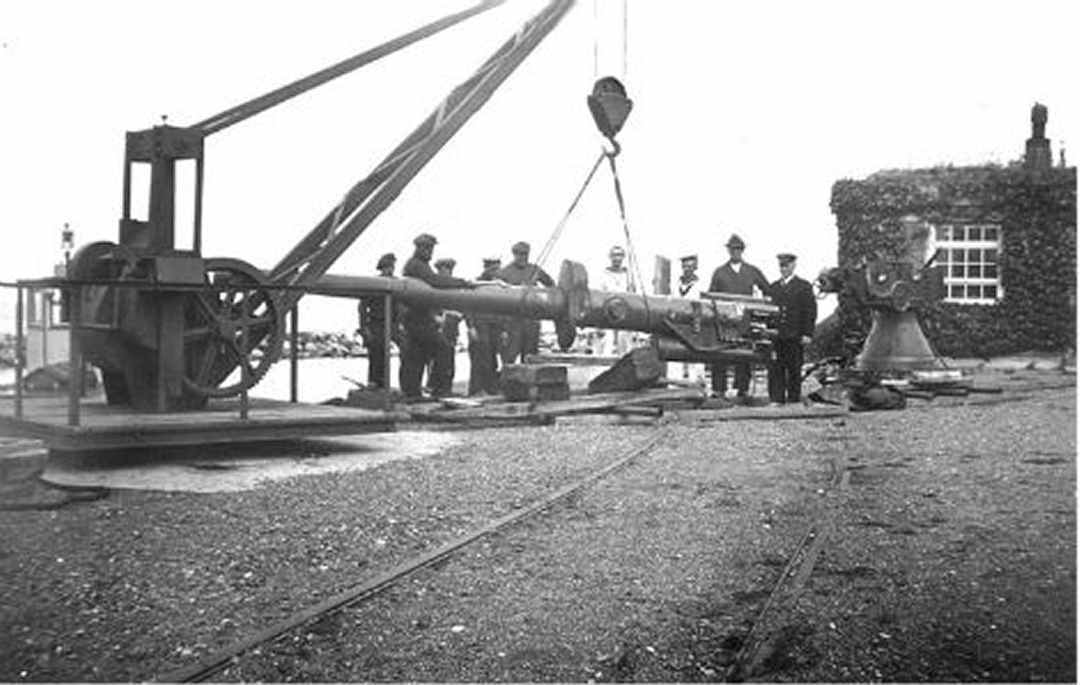 Dragør Fort, 9. april 1940 - Dines Bogø