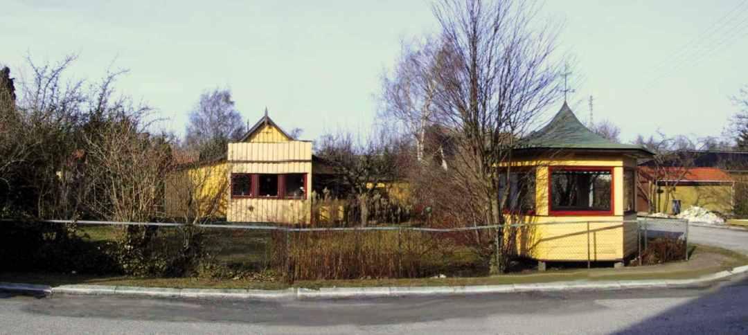Byvandring langs Ryvej. Henning Sørensen og Dines Bogø