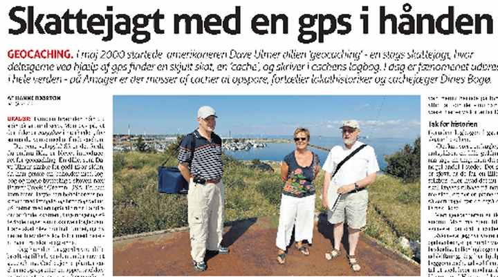 Geocaching - Dines Bogø