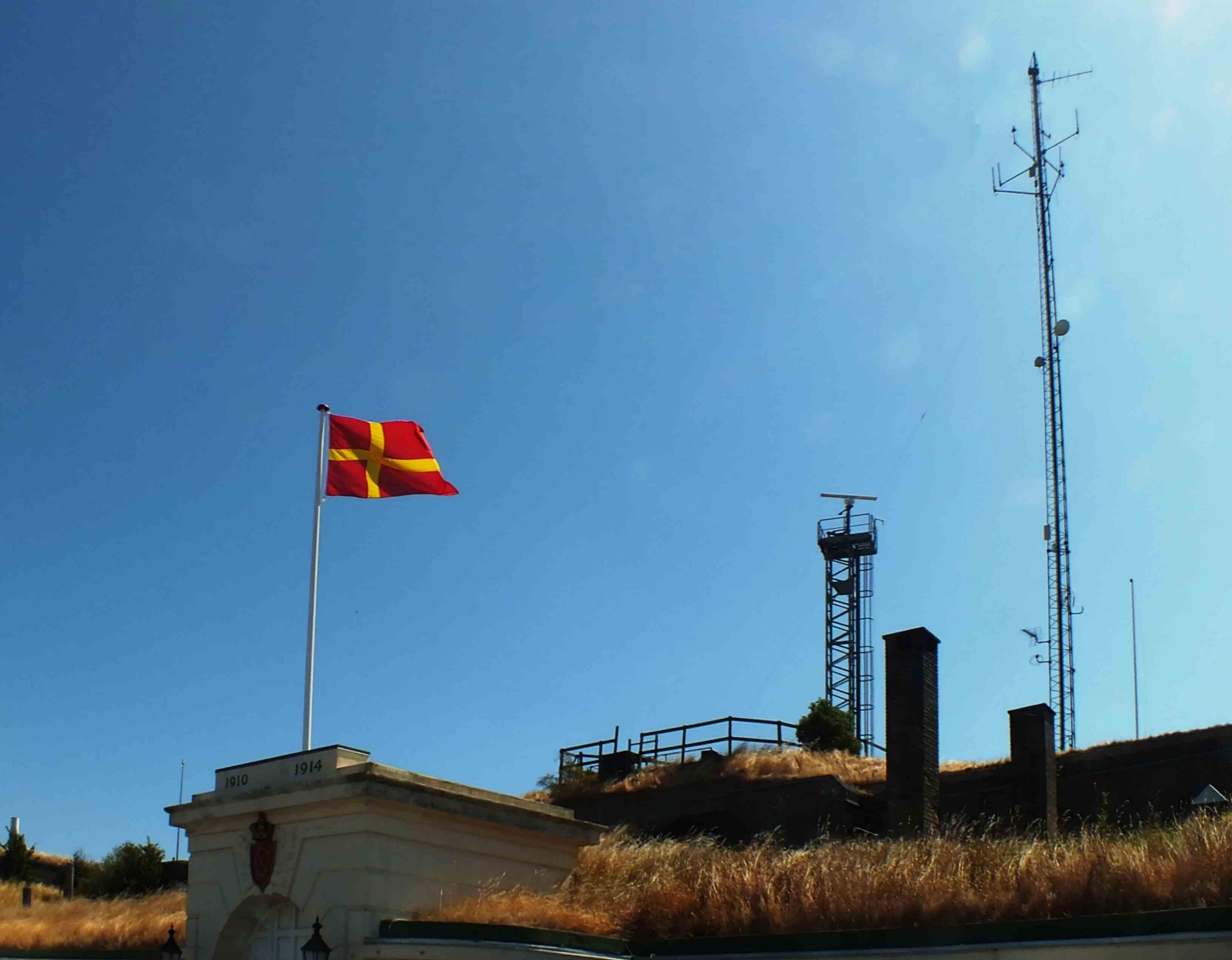 Skåneflag i Dragør