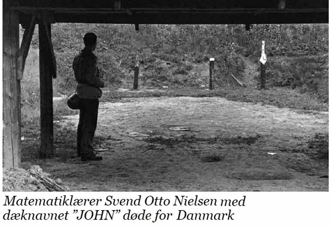 Modstandsmanden Svend Otto Nielsen, JOHN