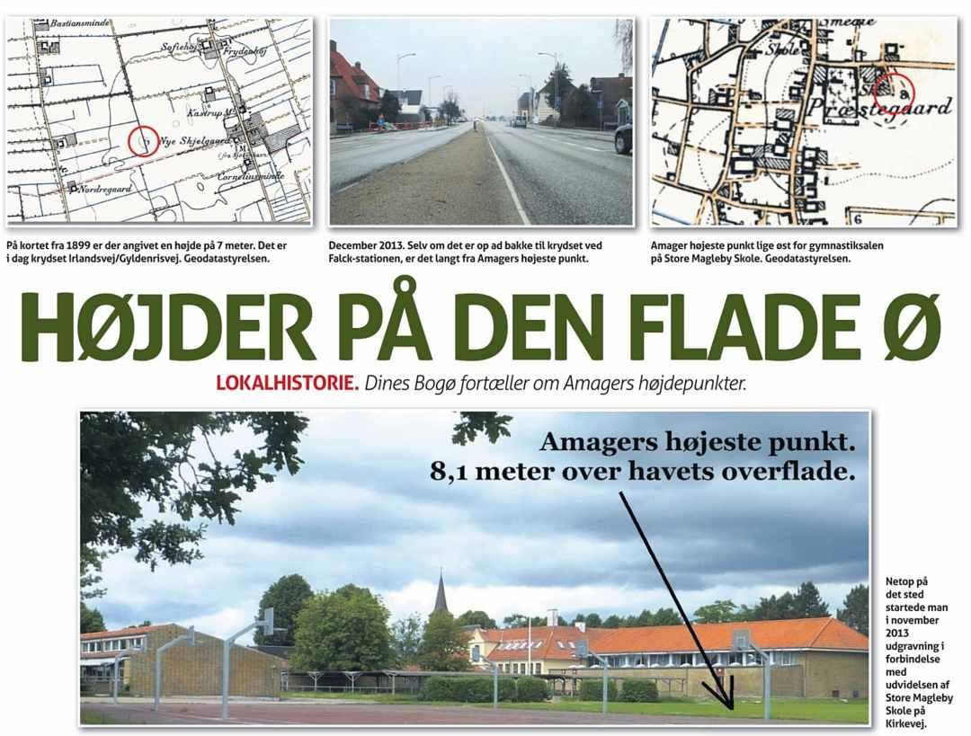 Amager Bladet - Dines Bogø - Høje punkter