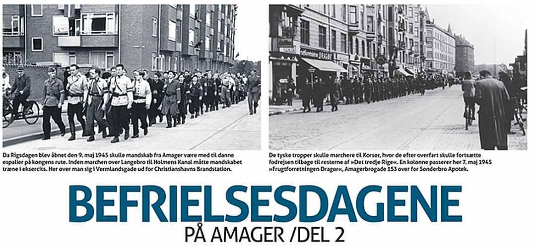 Befrielsesdagene - Amager Bladet - Dines Bogø