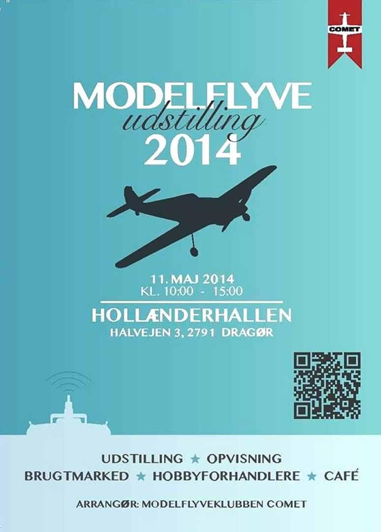 Modelflyver-udstilling - Dines Bogø
