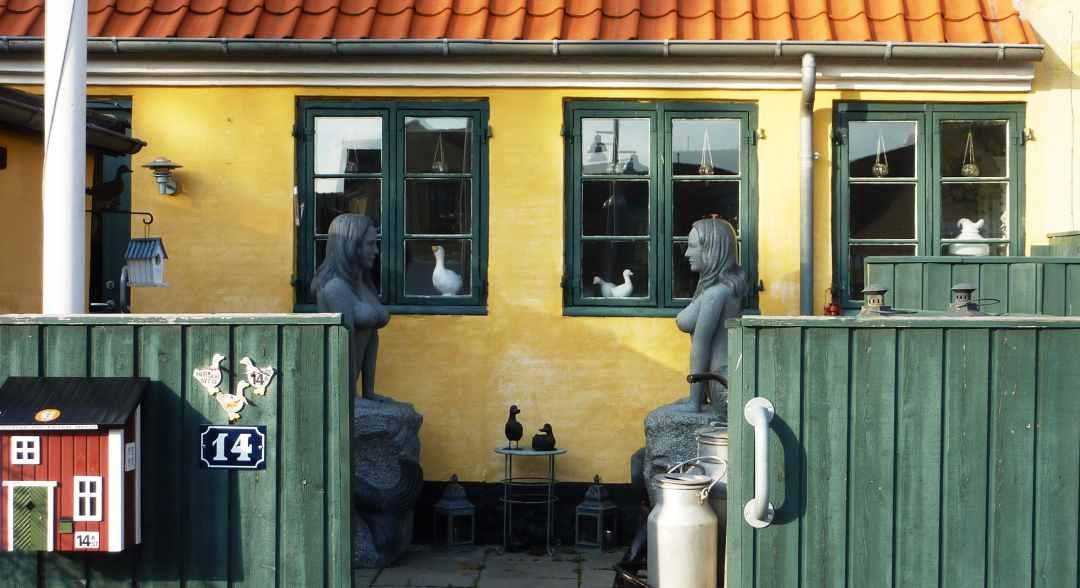 Dines Bogø - Havfruer - Langelinie - Dragør