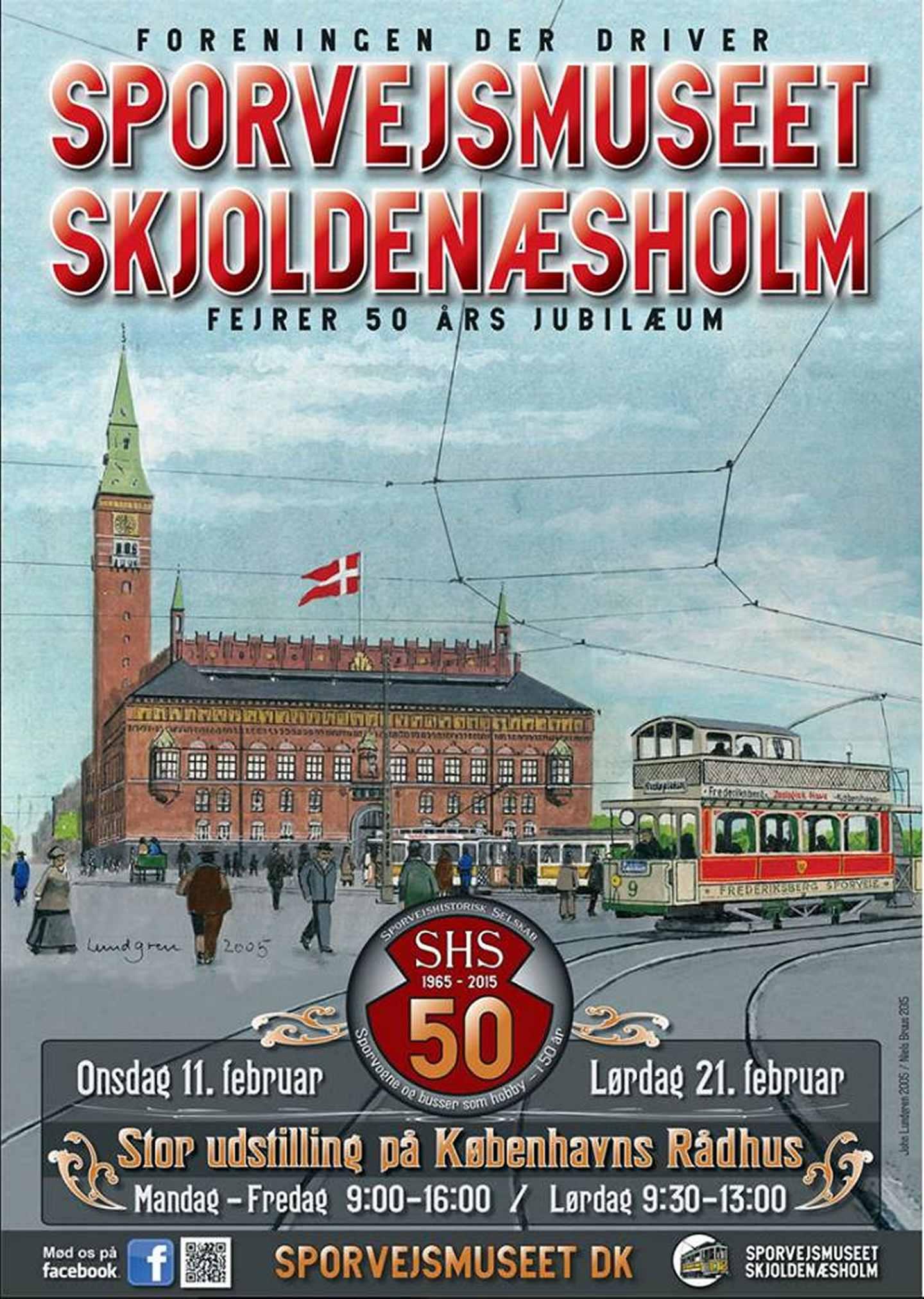 SHS 50 år