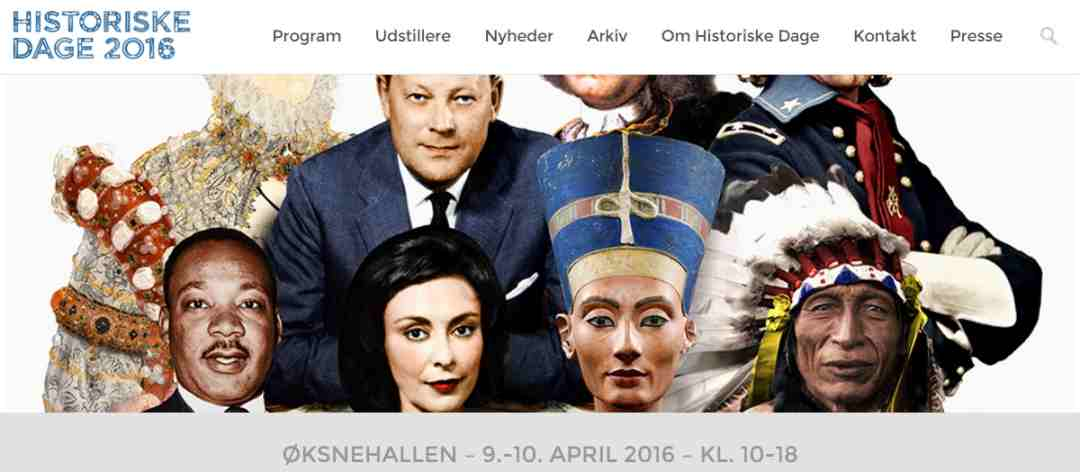 Historiske Dage 2016